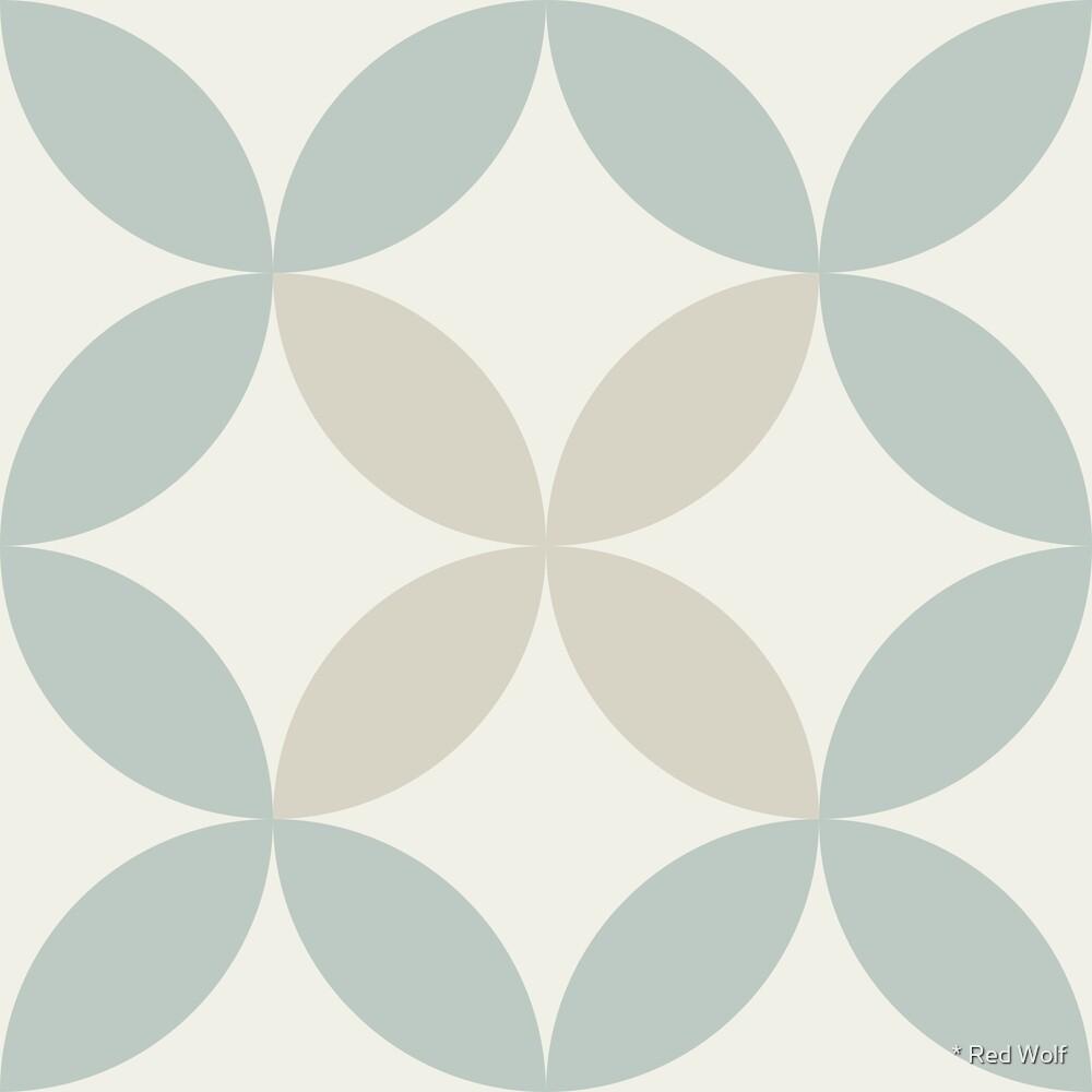 Geometric Pattern: Circle Nested: Savon by * Red Wolf