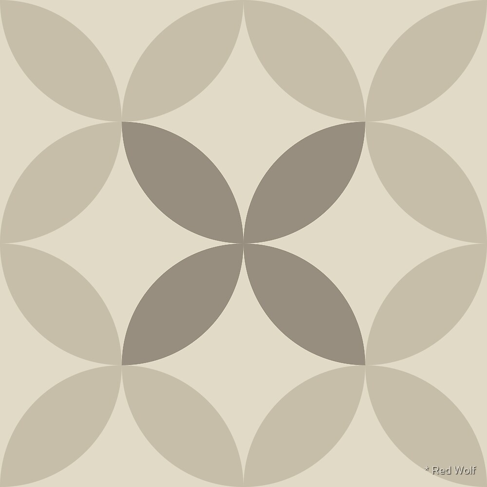 Geometric Pattern: Circle Nested: Sherwin by * Red Wolf
