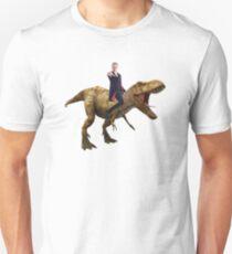 Capaldi on a Dinosaur Unisex T-Shirt