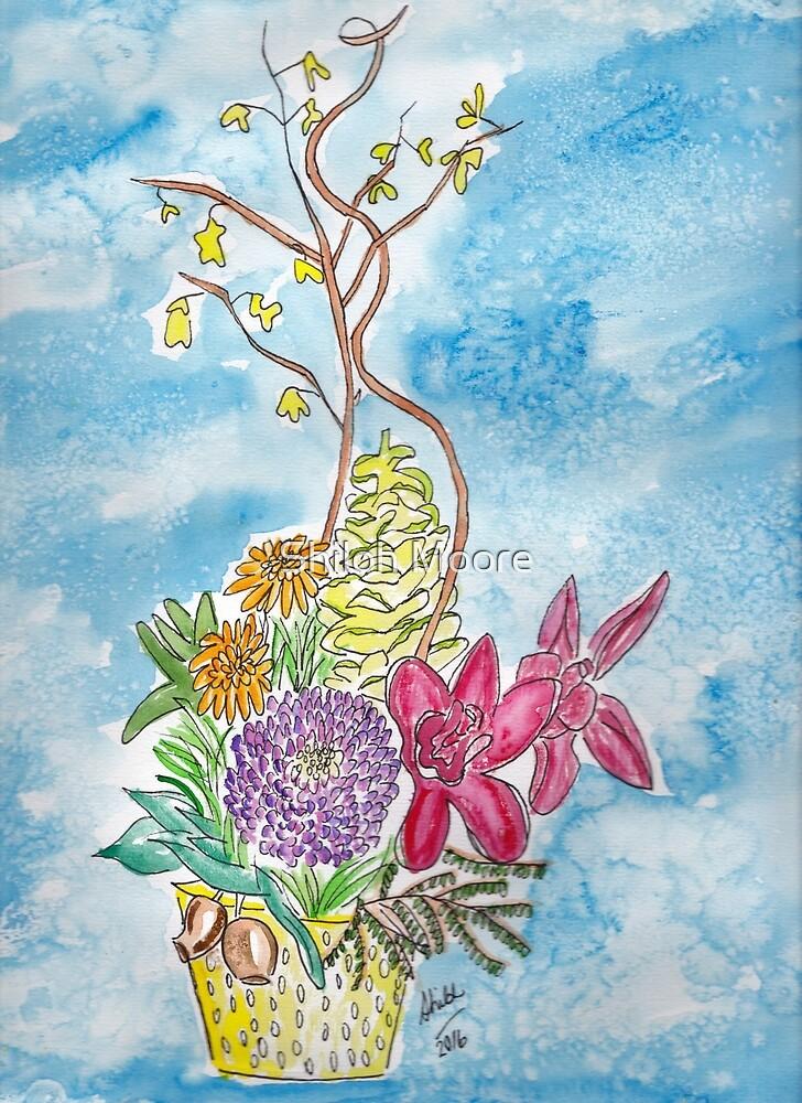 Floral Arrangement by Shiloh Moore