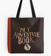 My Adventure Book Tote Bag