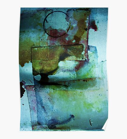 abstract watercolor #2 Poster