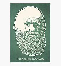 Charles Darwin Fotodruck