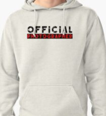 official photographer Pullover Hoodie