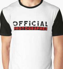 official photographer Graphic T-Shirt