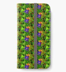 Wild Columbine in the Rain iPhone Wallet/Case/Skin