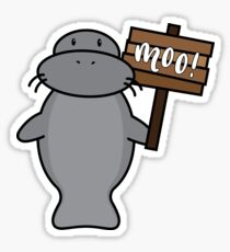 Manatee Sticker