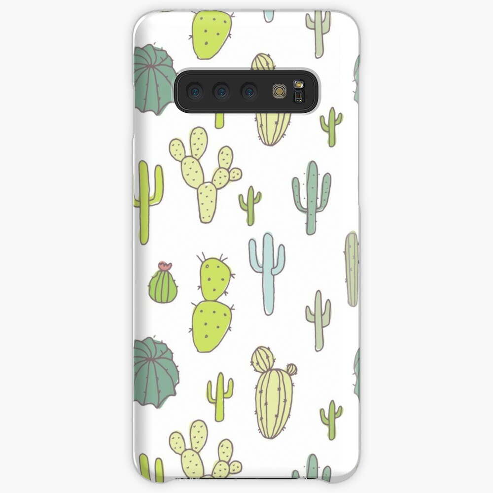 Cacti print Case & Skin for Samsung Galaxy