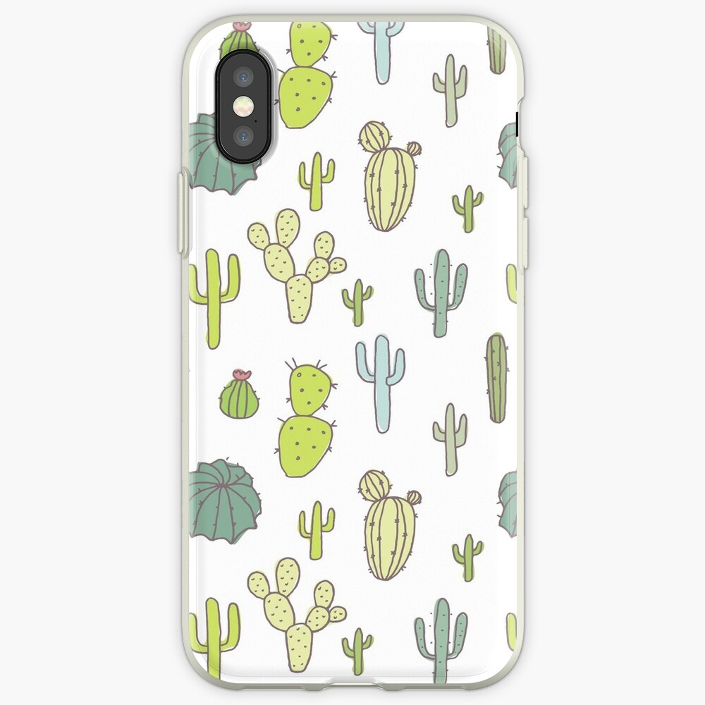 Cacti print iPhone Case & Cover