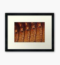 moroccan   Framed Print