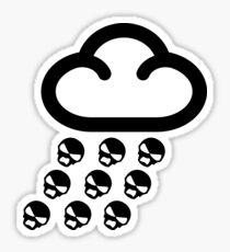 Sookie Skull Rain Design Sticker