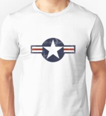 Military Roundels - United States Air Force - USAF T-Shirt