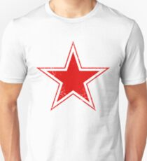 Military Roundels - USSR Red Star T-Shirt