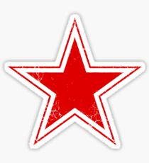 Military Roundels - USSR Red Star Sticker