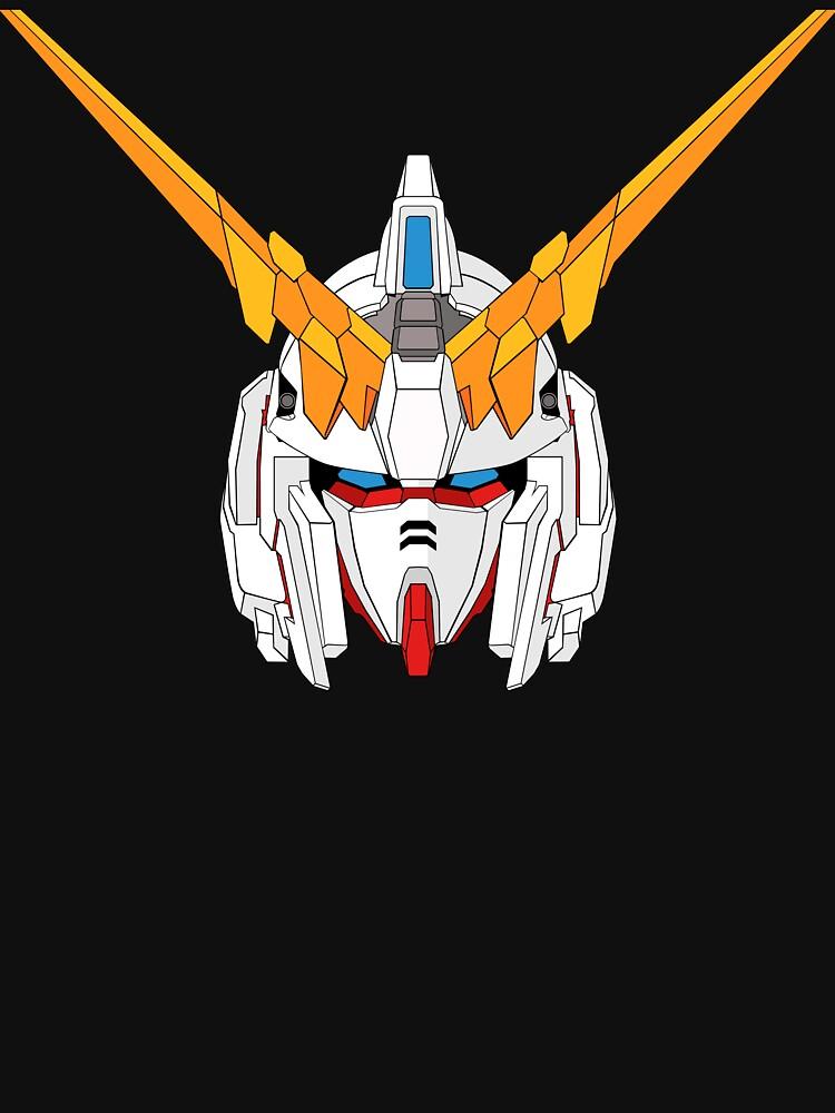 Gundam Unicorn by dapdigital