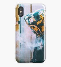 BAPE SMOKING DUDE iPhone Case/Skin