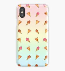 Pizza and Ice Cream iPhone Case