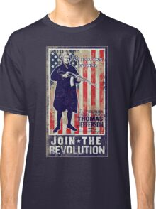 Jefferson Revolution Propaganda Classic T-Shirt