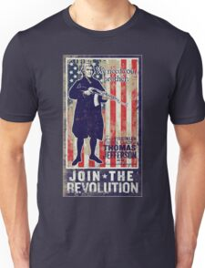 Jefferson Revolution Propaganda T-Shirt