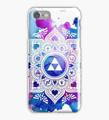 The Legend of a Zelda Mandala iPhone Case/Skin