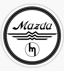 Mazda From 1936-1959 Sticker