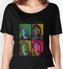 Elliott Smith pop art  Women's Relaxed Fit T-Shirt
