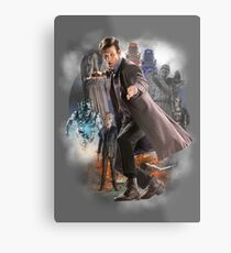 The Eleventh Doctor Metal Print