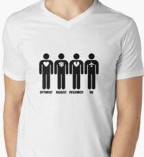 Optimist, Pessimist, Realist, Pilot T-Shirt