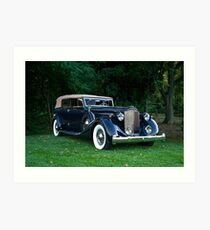 Classic Packard Phaeton Art Print