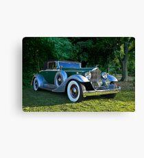 1933 Packard 1006 Convertible 2 Canvas Print