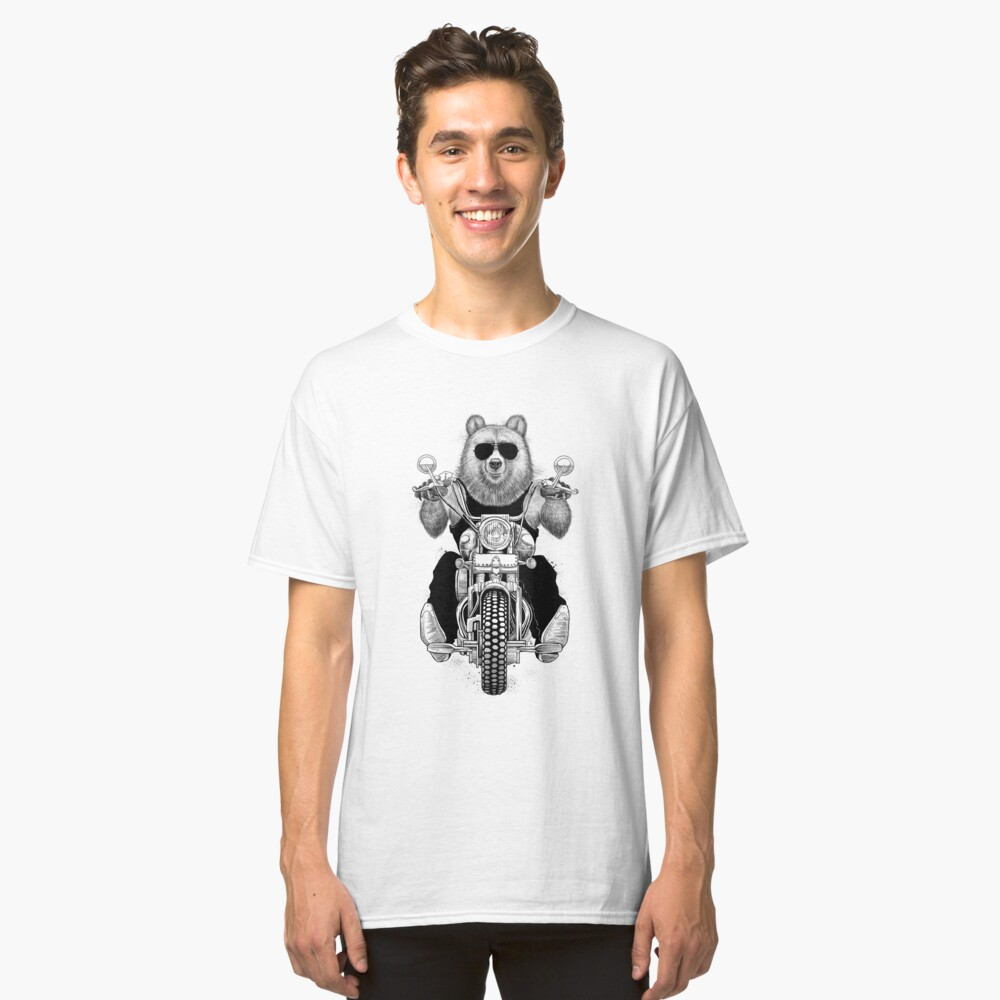 carefree bear Classic T-Shirt Front