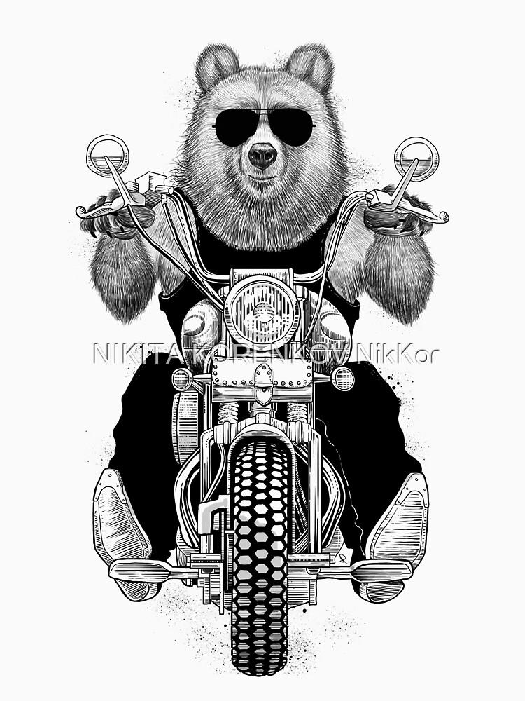 carefree bear by NikKor