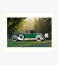 1933 Packard 1006 Convertible 1 Art Print