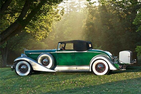 1933 Packard 1006 Convertible 1 by DaveKoontz