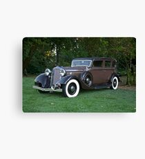 1933 Lincoln Sedan Canvas Print