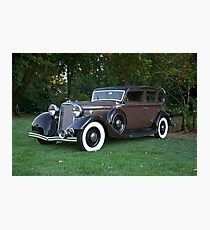 1933 Lincoln Sedan Photographic Print
