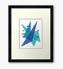Abstract Octagon Framed Print