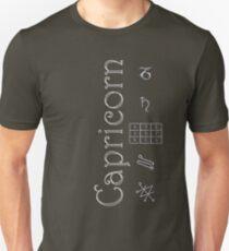 Camiseta unisex Capricorn/Saturn Talisman