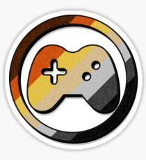 Bear Game Controller Icon Sticker