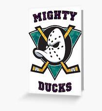 Mighty Ducks Greeting Card