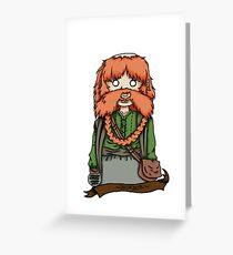 Bombur Greeting Card
