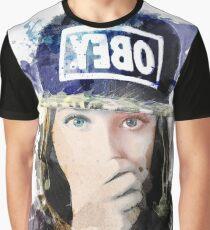 Portrait watercolor Graphic T-Shirt