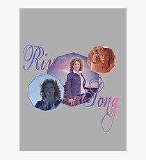River Song Photographic Print