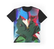 MELEE | Falco - Green Graphic T-Shirt