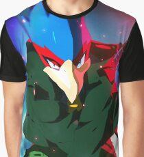 MELEE | Falco - Green Graphic T-Shirt