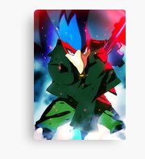 MELEE | Falco - Green Canvas Print
