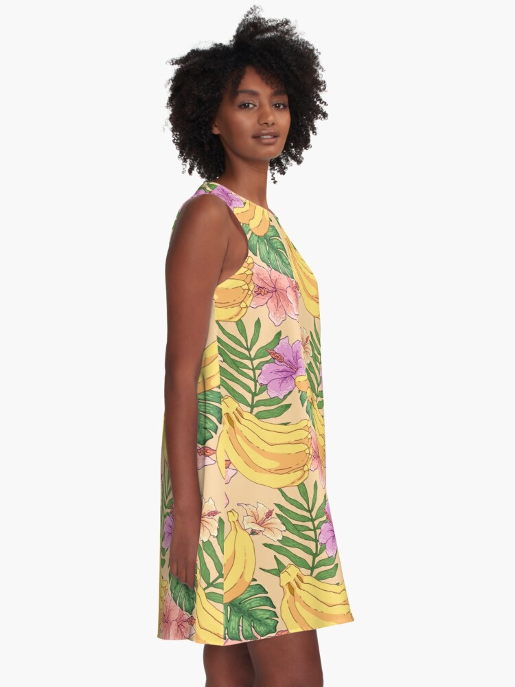 Alternate view of Banana A-Line Dress