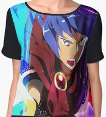 MELEE | Marth - Red Chiffon Top