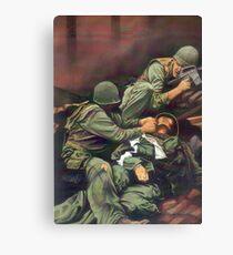 Vietnam Marines  Canvas Print