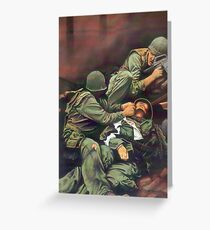 Vietnam Marines  Greeting Card